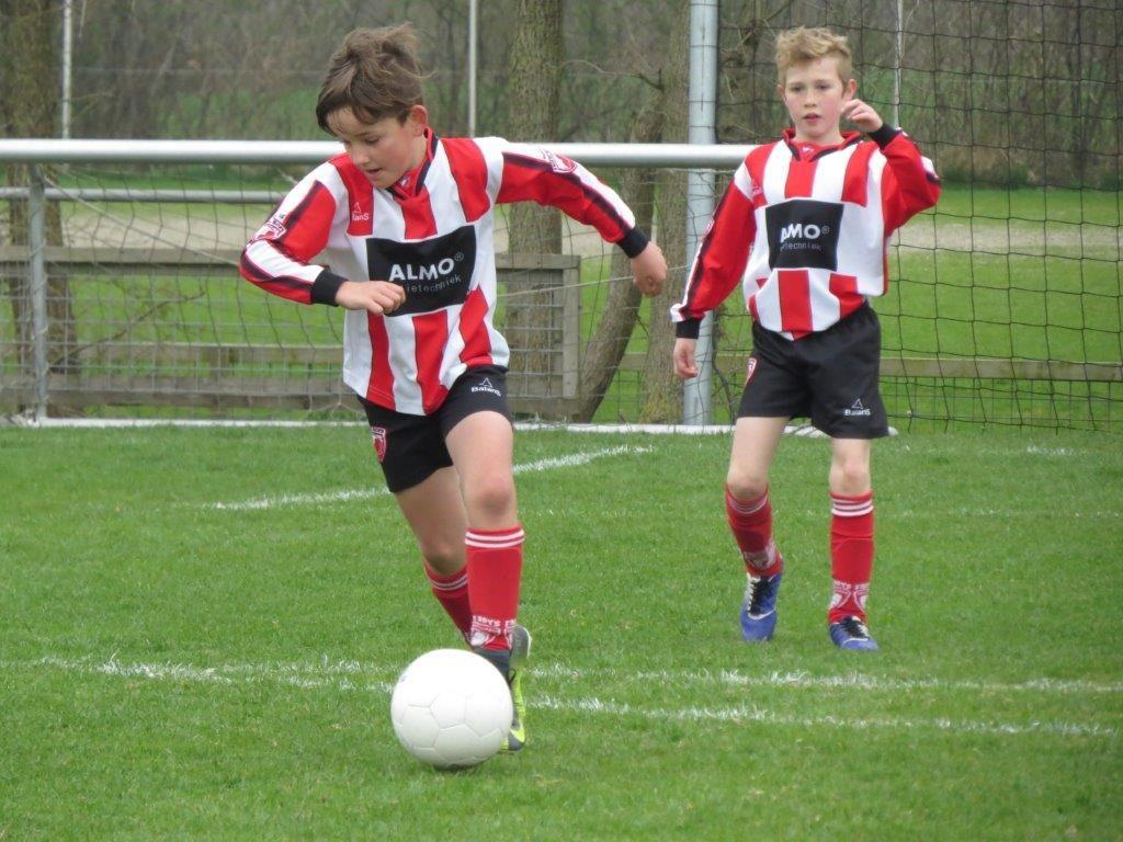 Verslag Friese Boys JO11-3 – LAC Frisia JO11-12 zaterdag 14 april 2018