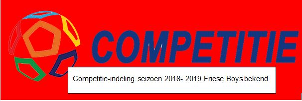 Competitie indeling