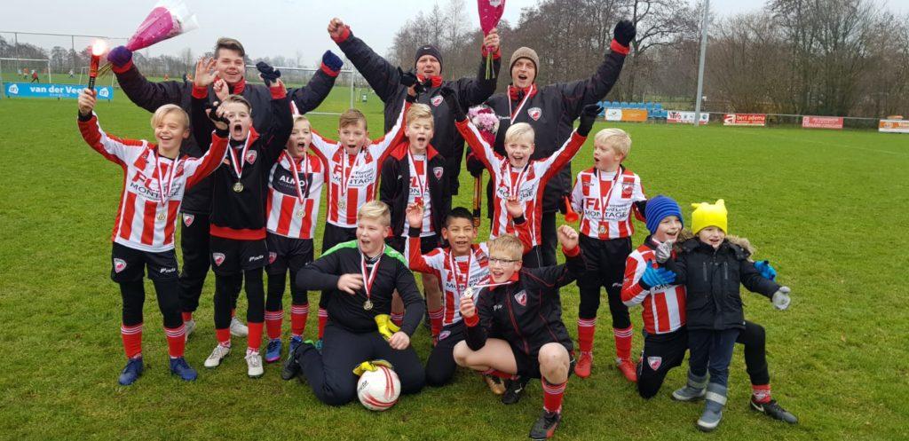 Friese Boys JO12-1 kampioen!
