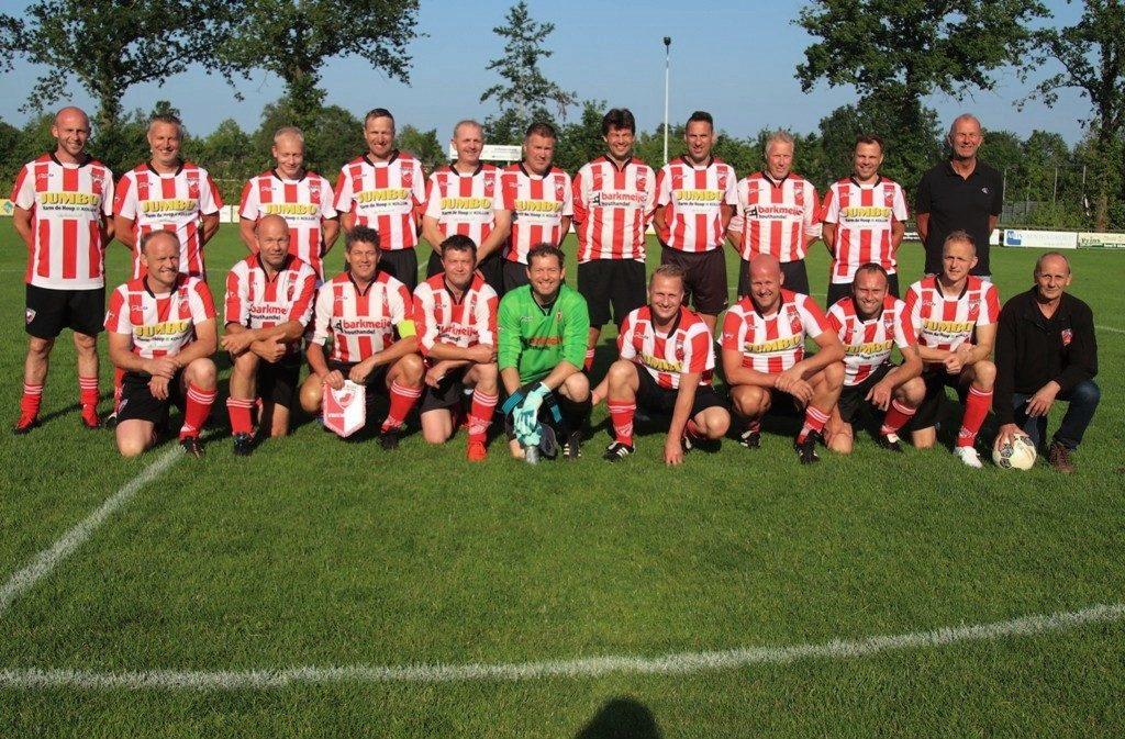 Verslag oud-Friese Boys tegen oud-Groningen zaterdag 22 juni 2019