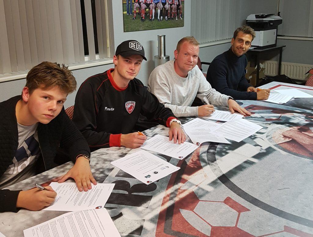 Friese Boys legt jeugdtrainers vast