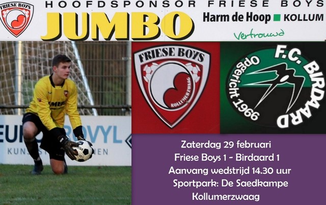 Poster Birdaard 2020 02 29