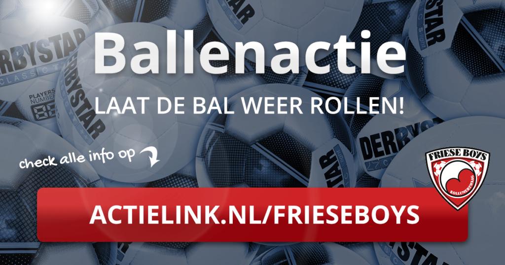 Ballenactie Friese Boys