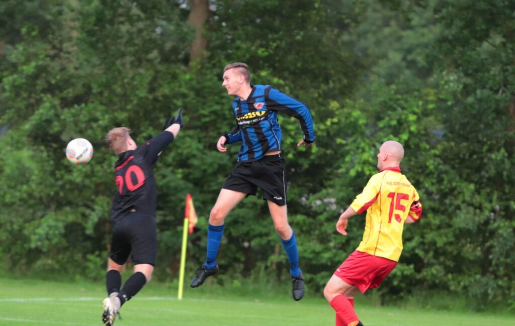 Oefenwedstrijd Drogeham -Friese Boys 8 juli 2021